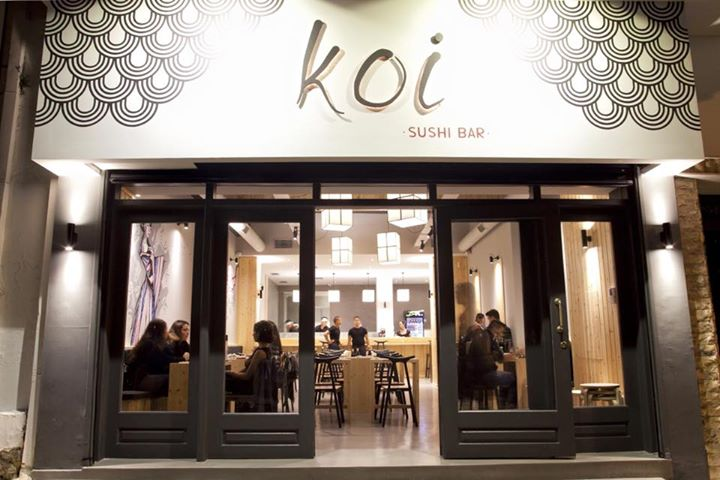 Image result for koi sushi bar athens