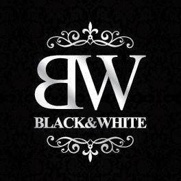BLACK & WHITE Logo Image on XploreGreece