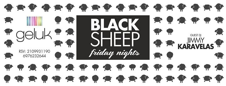 #BlackSheep Fridays Event Image