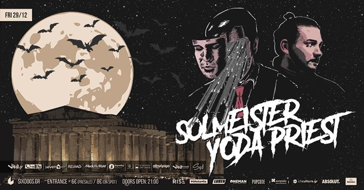 Solmeister x Yoda Priest Live at six dogs Image