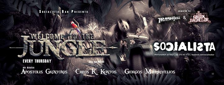 Welcome To The Jungle 25/1 Jungle Show No3 Event Image
