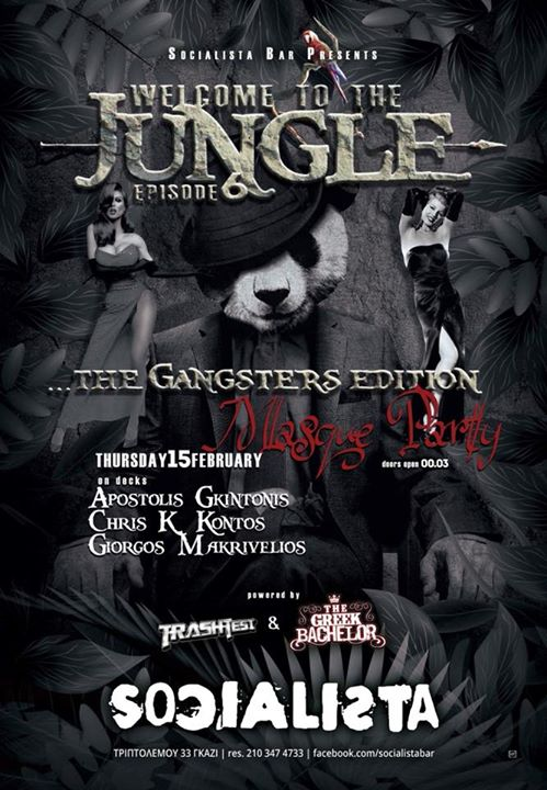 @Welcome To The Jungle MASQUEThe Gangsters Edition Event Image