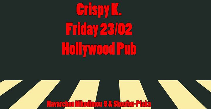 Crispy K. goes to Hollywood Pub Event Image