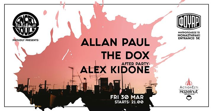 CNCRT Souls proudly presents: Allan Paul,The Dox ,Alex KidOne Event Image